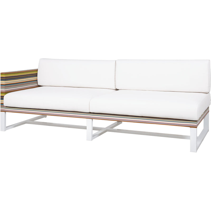 Stripe Right Hand Sectional Lounge
