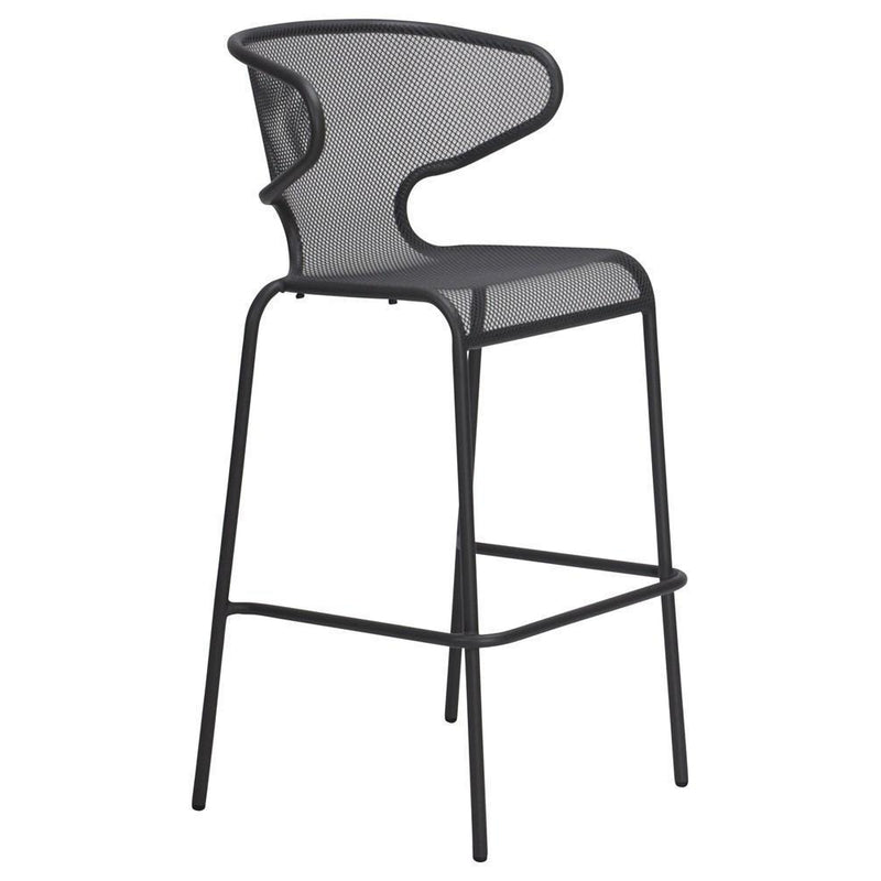 Movida Bar Chair Artic Iron