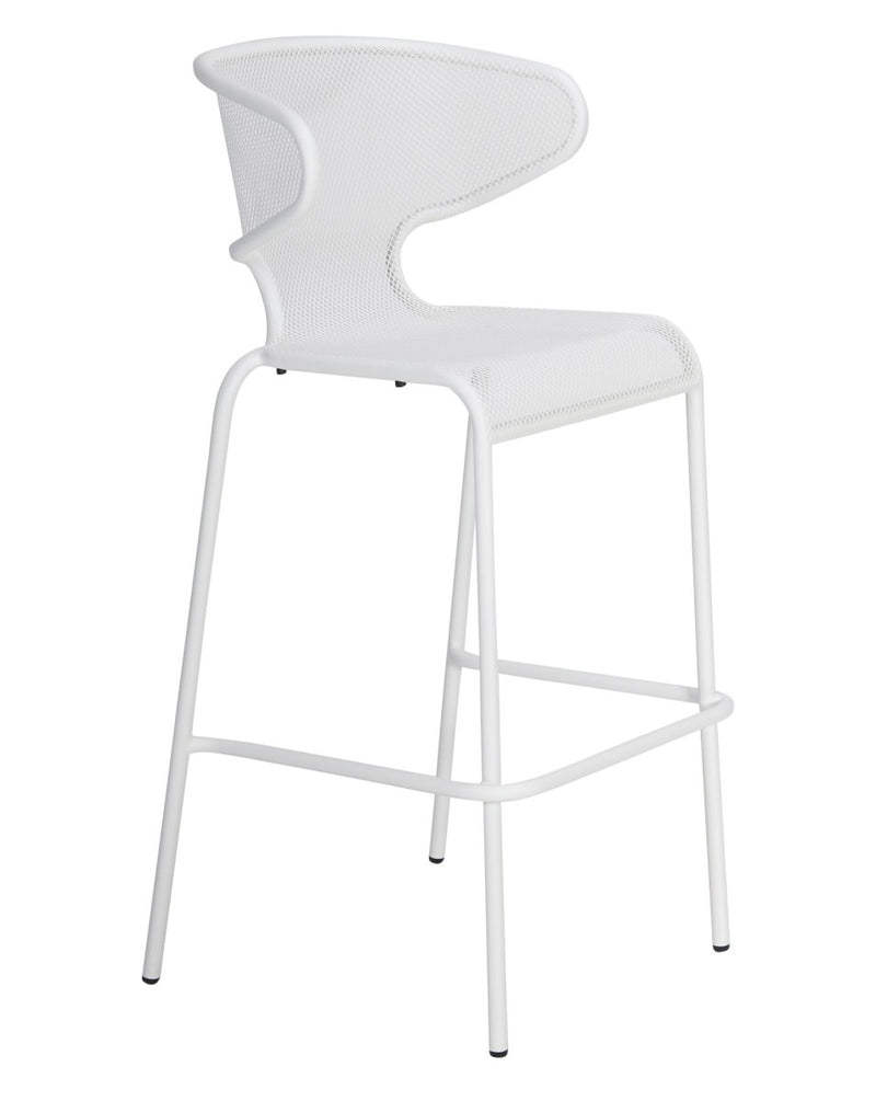 Movida Bar Chair White