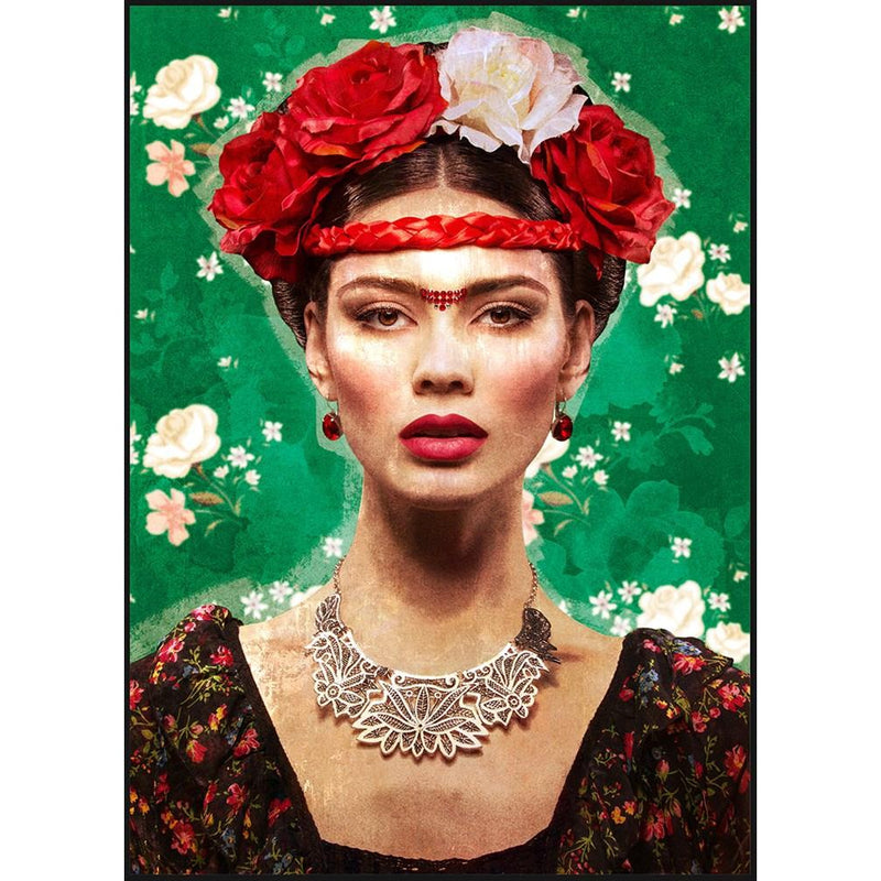 Bold Like Frida Print Med