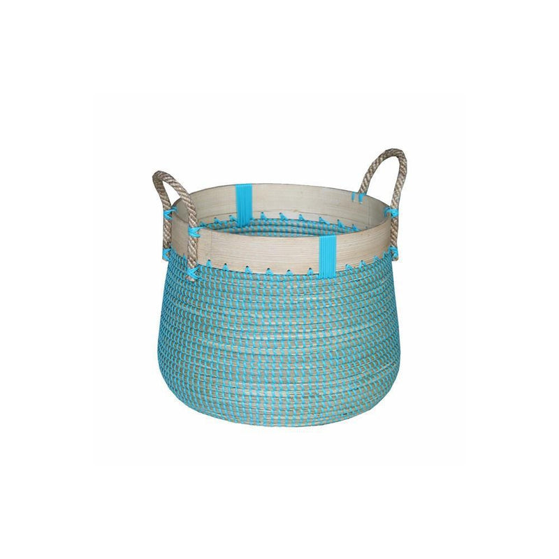 Laundry Basket Ocean Blue Sml