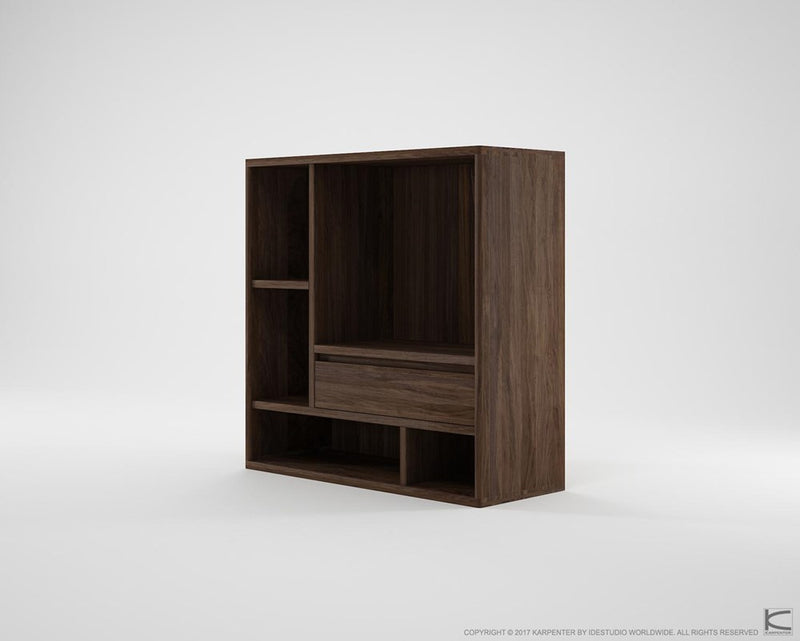 Circa Cupboard Combo Type 3 - Dark Walnut