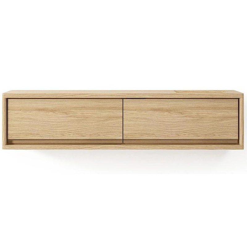 Circa Floating Cabinet Module 4  - European Oak