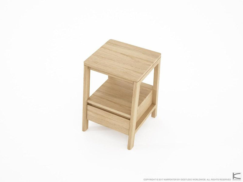 Circa Side Table - European Oak-Indoor Furniture-Karpenter-Neutral Oak Wood-European Oak-SLH AU