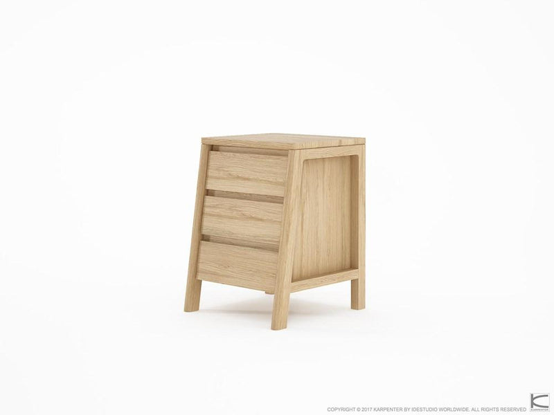 Circa Side Table - European Oak