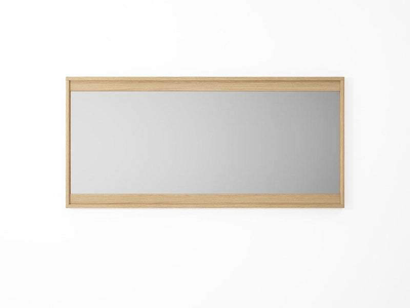 Circa Hanging Mirror 3 - European Oak-Indoor Furniture-Karpenter-Neutral Pastel Wood-European Oak-SLH AU