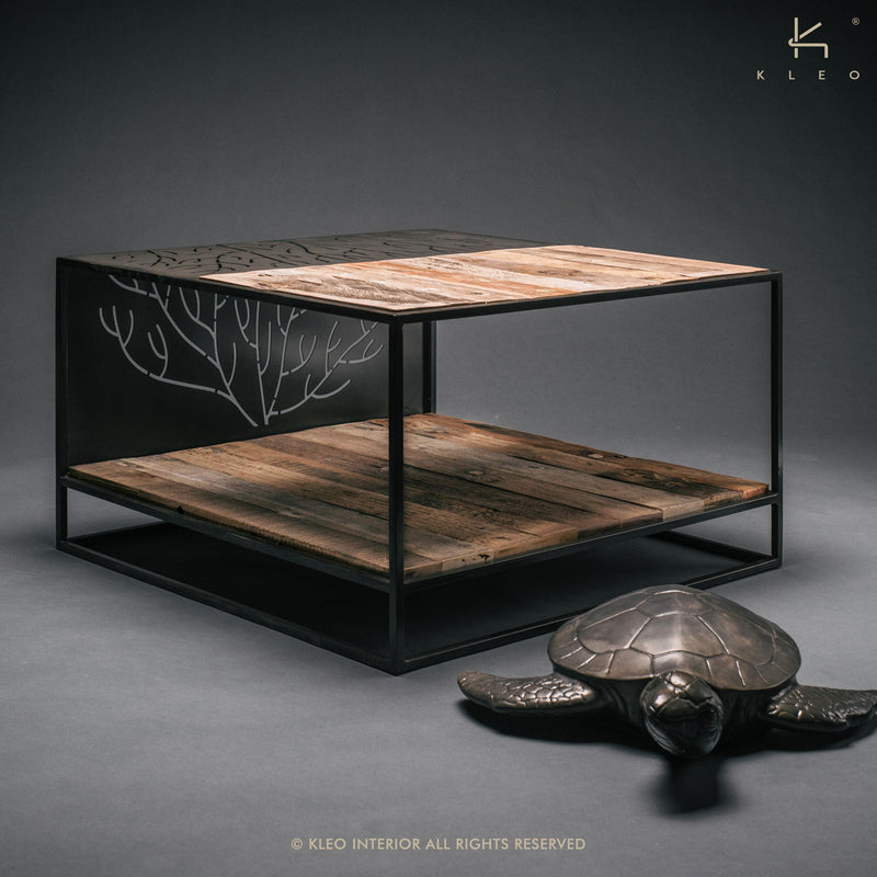 Coral Square Coffee Table