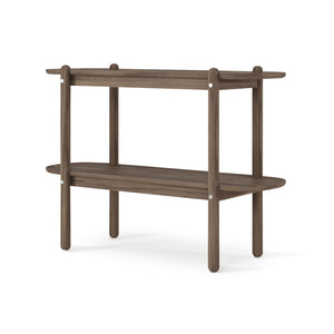 East Console with Shelf American Walnut