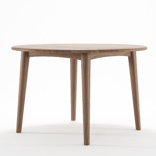 Grasshopper Round Dining Table 120cm - FSC Recycled Teak