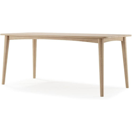 Grasshopper Rectangular Dining Table 180cm - European Oak
