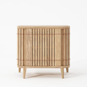 Koppar Side Table - European Oak