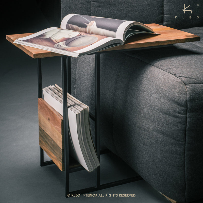 Sublime Sidetable Magazine Rack