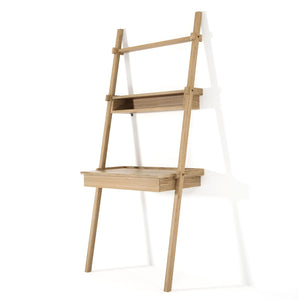 Simply City Ladder Desk - European Oak