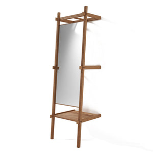 Simply City Standing Mirror - FSC Recycled Teak