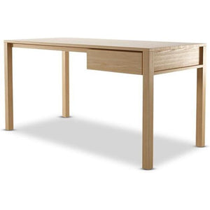 Solid Office Desk - European Oak
