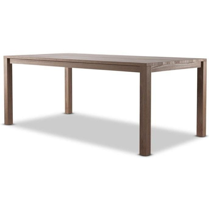 Solid Dining Table - FSC Recycled Teak