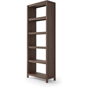 Solid Bookshelf  - FSC Recycled Teak