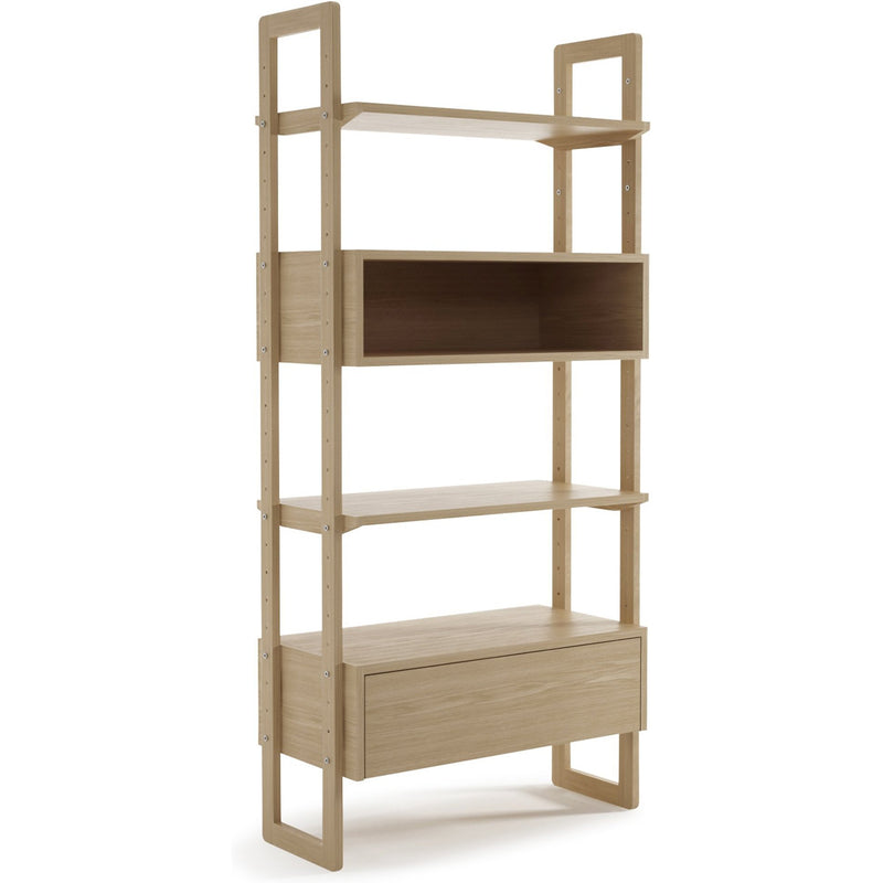 Soho Wall Unit Single - European Oak