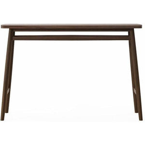 Twist Console Table 120cm - American Walnut