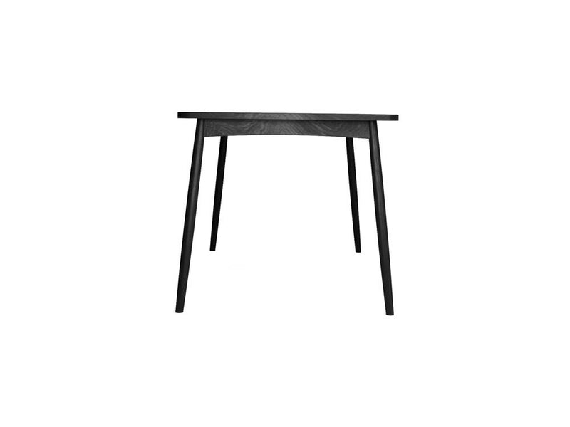 Twist Dining Table 180cm - Satin Black