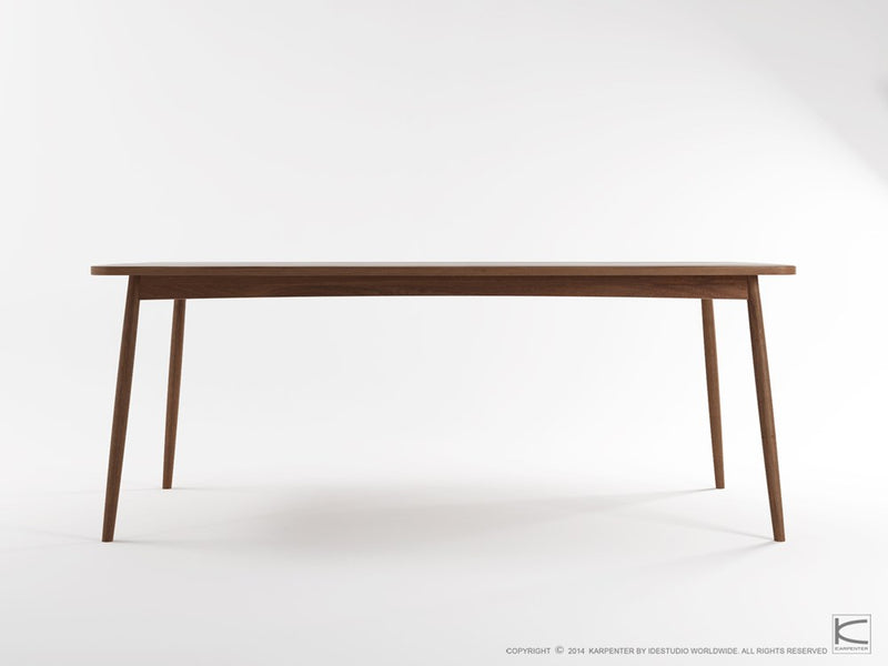 Twist Dining Table 200cm - FSC Recycled Teak