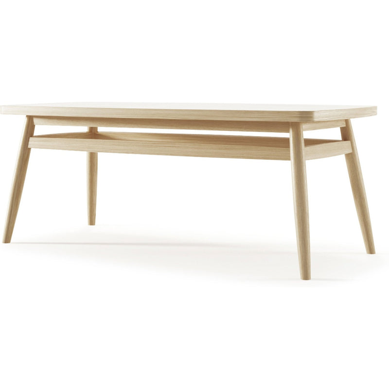 Twist Coffee Table 100cm - European White Oak