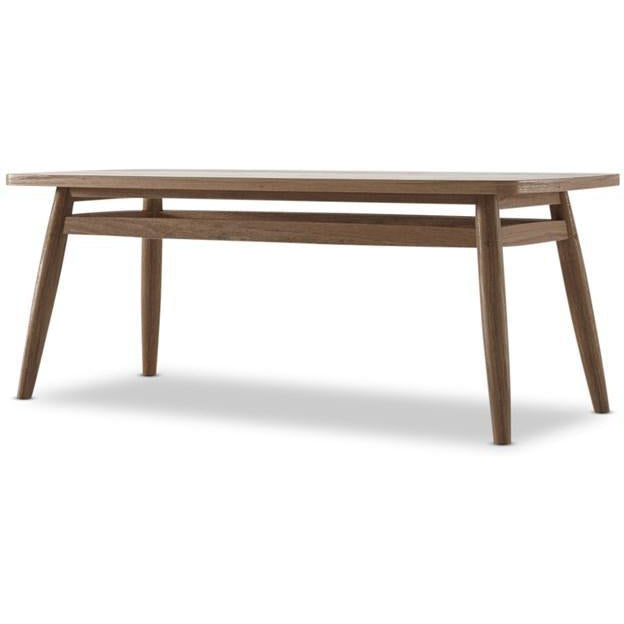 Twist Coffee Table 100cm - FSC Recycled Teak