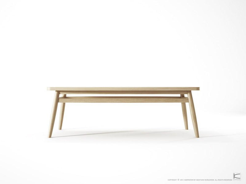 Twist Coffee Table 120cm - European Oak