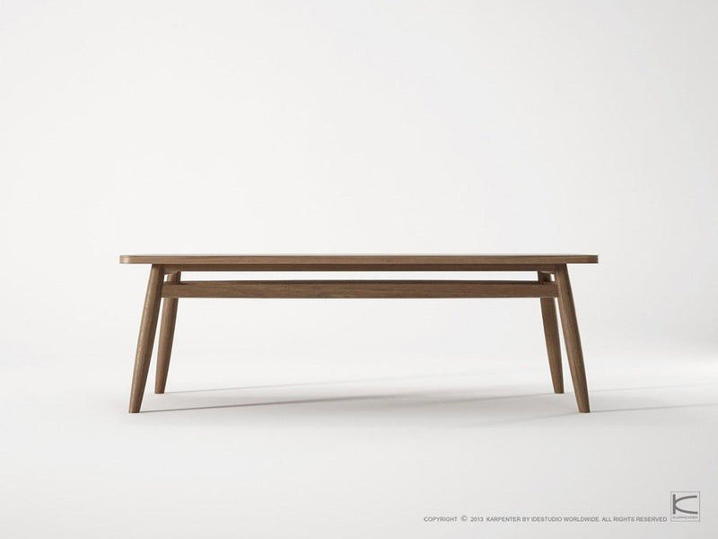 Twist Coffee Table 120cm - FSC Recycled Teak