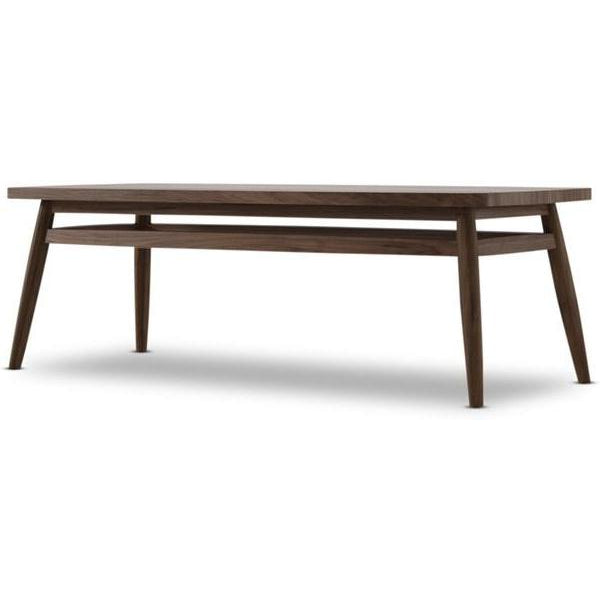 Twist Coffee Table 120cm - American Walnut