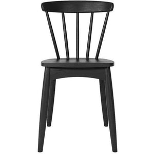 Twist Dining Chair - Satin Black