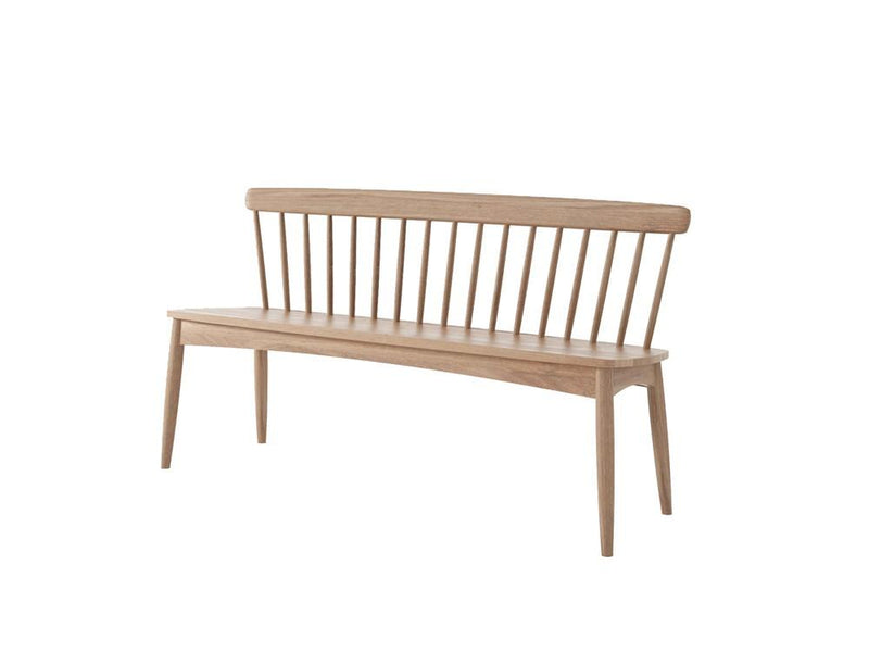 Twist Bench - FSC Recycled Teak