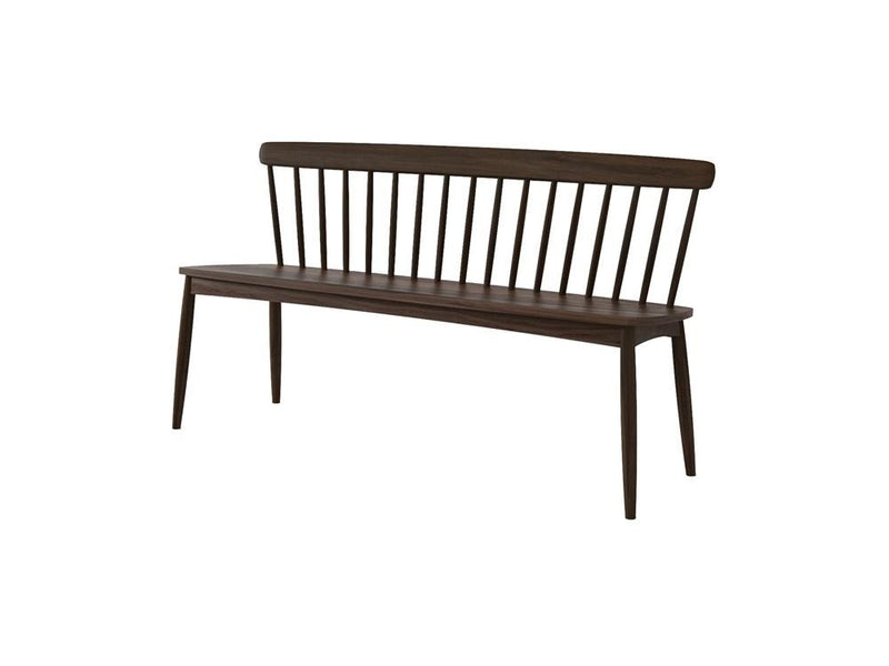 Twist Bench - American Walnut