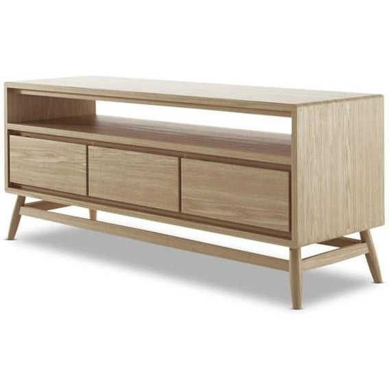 Twist TV Unit - European Oak