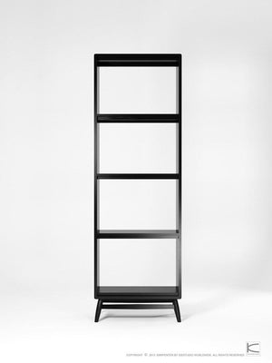 Twist Bookcase - Satin Black
