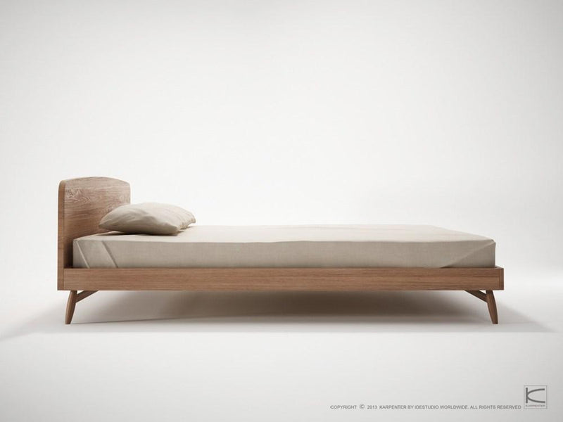 Twist King Bed - FSC Recycled Teak