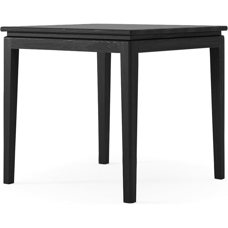 Twenty Twenty square Dining Table 80cm - Satin Black