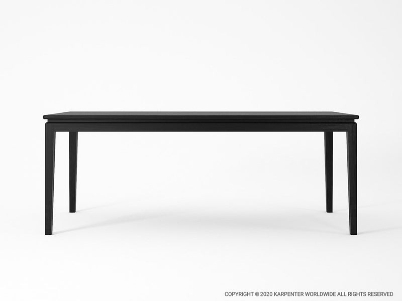 Twenty Twenty Dining Table 200cm - Satin Black