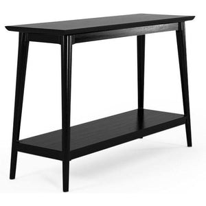 Vintage Console 1 Shelf - Satin Black