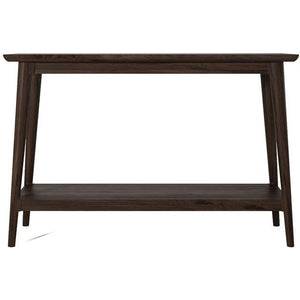 Vintage Console 1 Shelf -  American Walnut