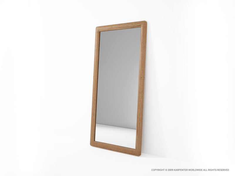 Vintage Floor Mirror - FSC Recycled Teak