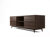 Vintage Low TV Unit - American Walnut