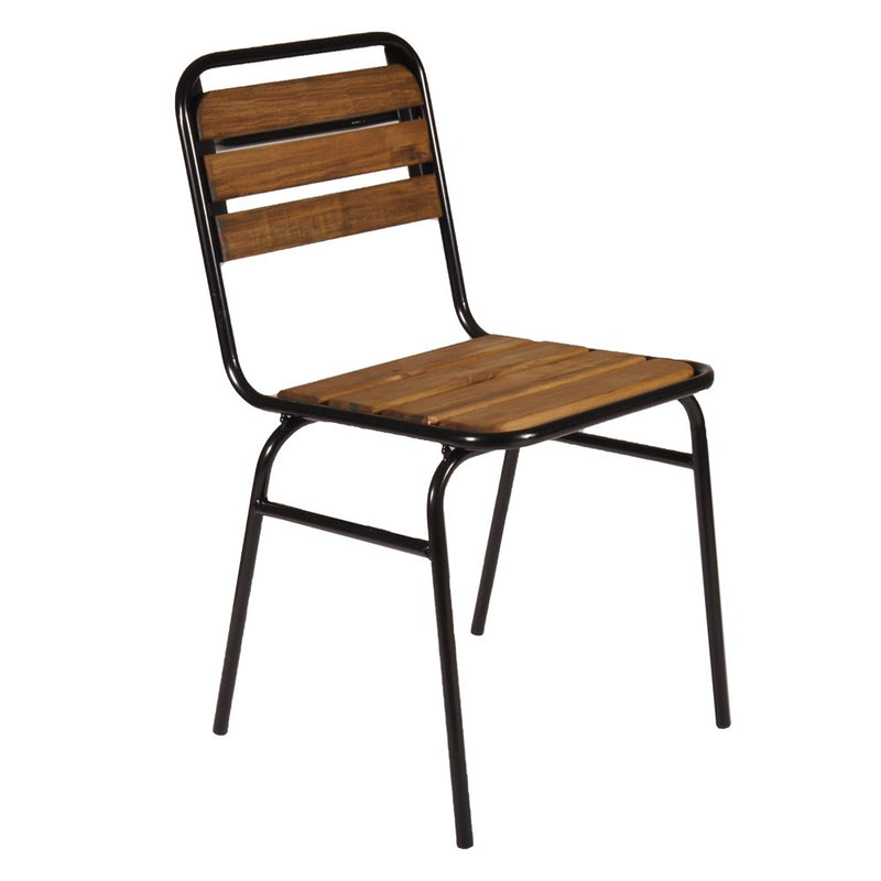 Cafe Chair Black