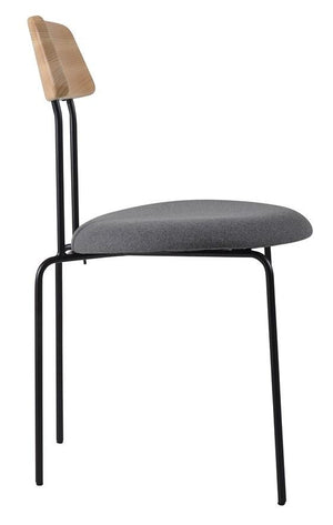 Aria Dining Chair Black|Ash|Telegrey
