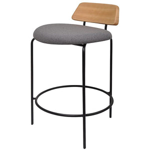 Aria Counter Stool Black|Ash|Grey