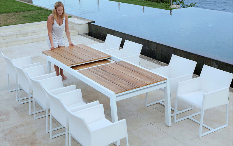 Baia Extension Dining Table 230-360 cm - Teak