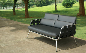 Meika 2 Seater Love Seat Lounge