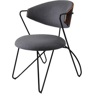 Loop Dining Chair Black|Walnut|Telegrey