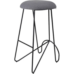 Loop Backless Barstool Black | Telegrey