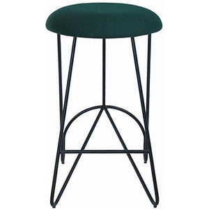 Loop Backless Counter Stool Black|Grey